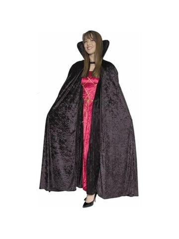 Adult Women's Vampire Cape-COSTUMEISH