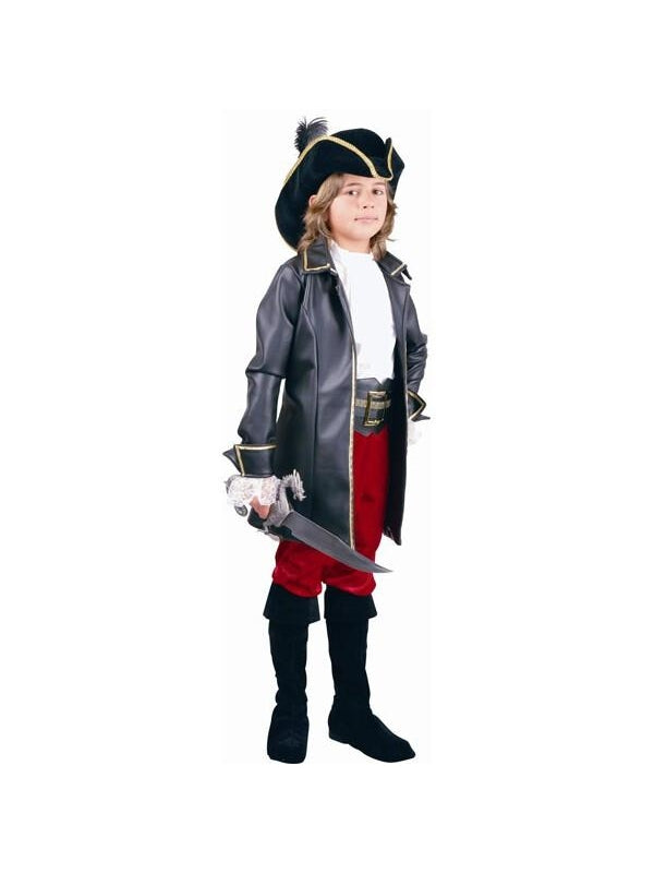 Child's Pirate Captain Costume-COSTUMEISH