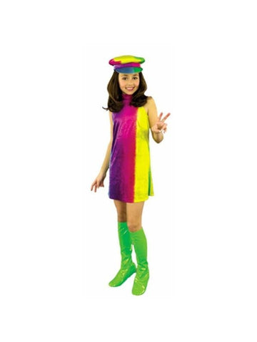 Child's 60's Go Go Girl Costume