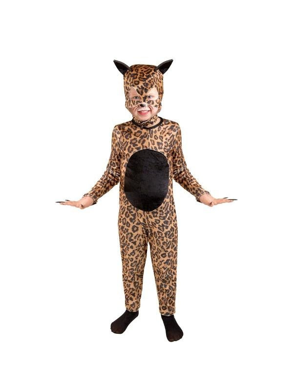 Child Cheetah Cat Girl Costume-COSTUMEISH