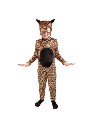 Child Cheetah Cat Girl Costume