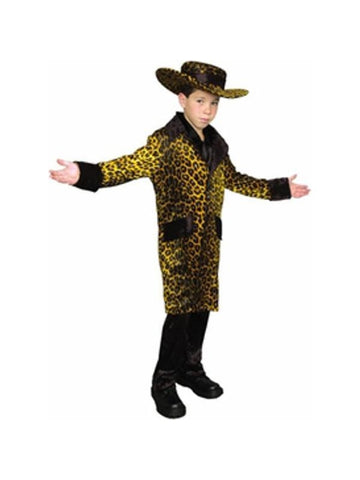 Child Cheetah Pimp Suit Costume