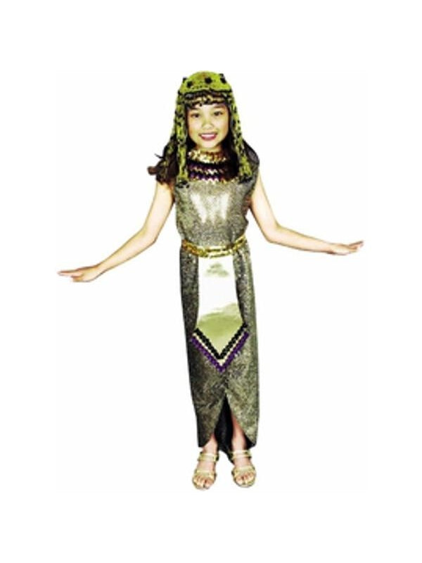 Child's Sequin Cleopatra Costume-COSTUMEISH