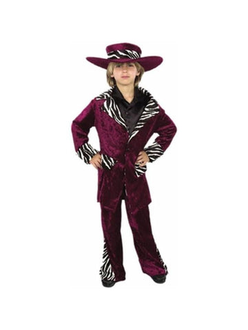 Child Pimp Suit Costume-COSTUMEISH