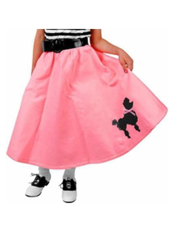 Child's Poodle Skirt
