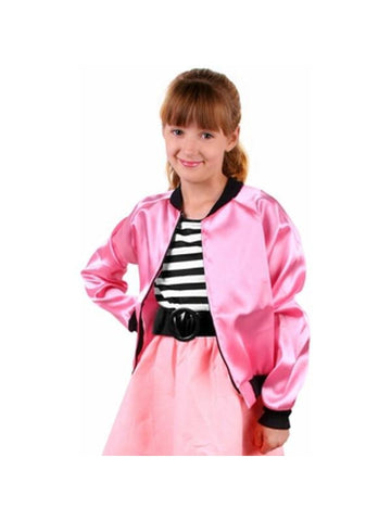 Childs Satin Poodle Jacket-COSTUMEISH