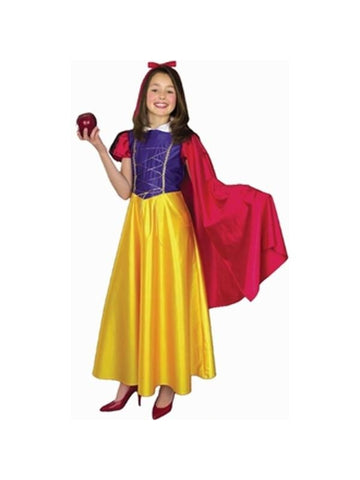 Child's Snow White Costume W/Cape