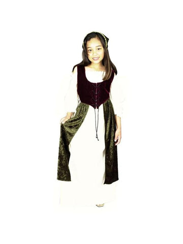 Child's Village Wench Costume