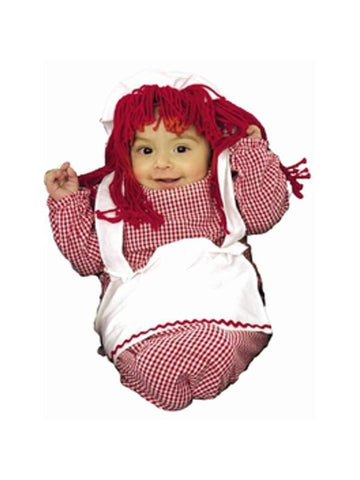 Baby Gingham Raggedy Costume