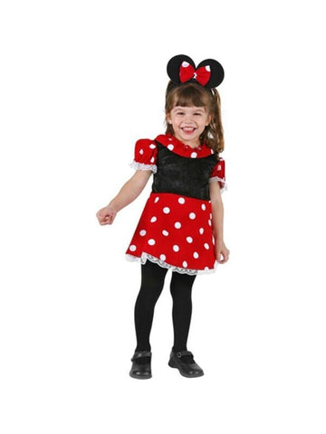 Toddler Mini Mouse Dress Costume