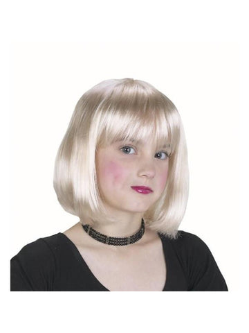 Child's Blonde Wig-COSTUMEISH