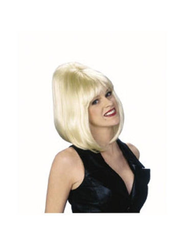 Adult Blonde Bouffant Wig-COSTUMEISH