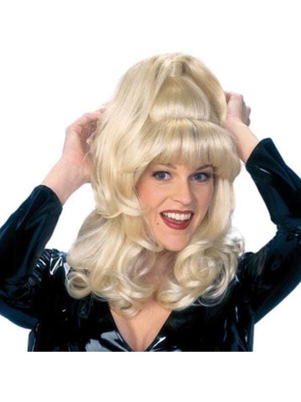 Adult Blonde Sex Kitten Wig-COSTUMEISH