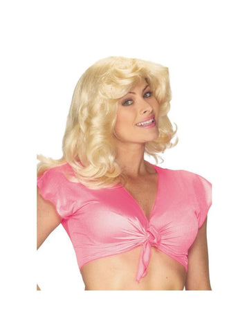 Adult Sandy Blonde 70s Wig-COSTUMEISH