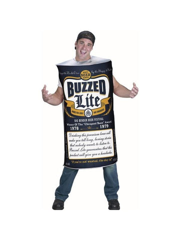 Adult Beer Can Costume-COSTUMEISH