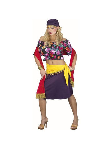 Classic Adult Gypsy Costume-COSTUMEISH