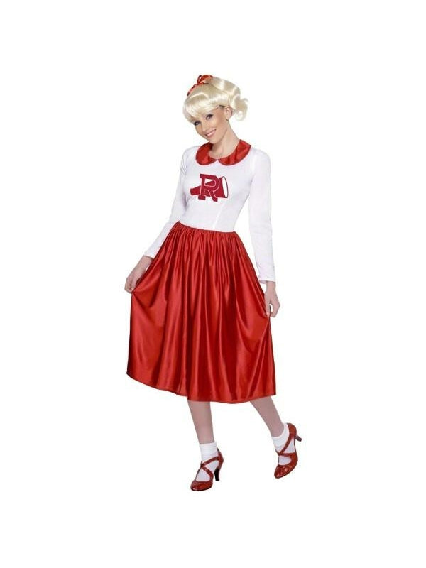 Adult Rydell Greese Cheerleader Costume-COSTUMEISH