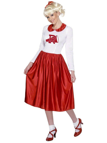 Teen Rydell High Grease Cheerleader Costume-COSTUMEISH