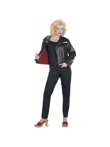 Adult Deluxe Sandy Grease Jacket Costume-COSTUMEISH