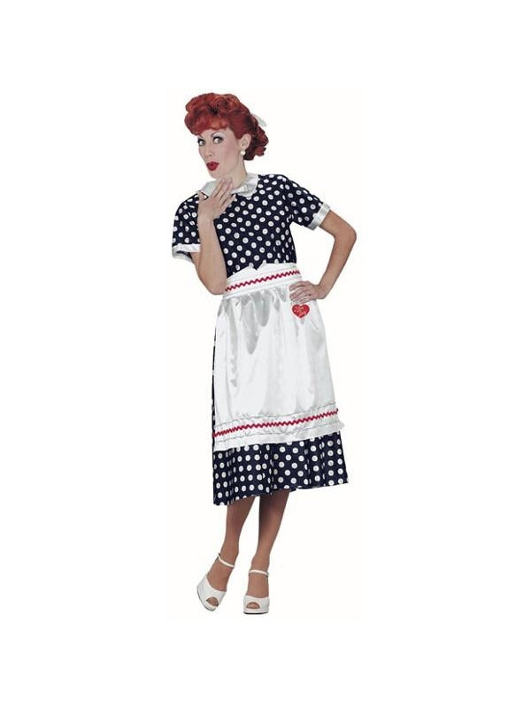 Adult I Love Lucy Costume-COSTUMEISH