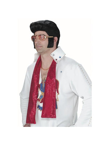 Adult Elvis Presley Sunglasses W/ Sideburns-COSTUMEISH