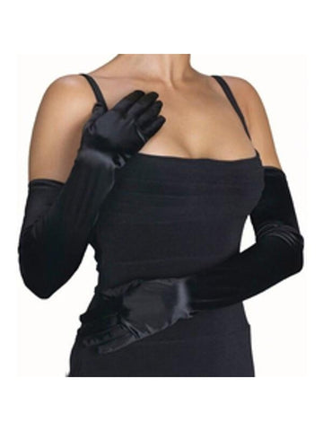 Adult Black Opera Gloves
