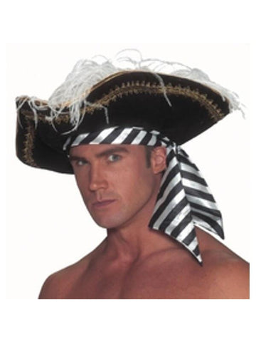 Adult Pirate Captain Hat-COSTUMEISH