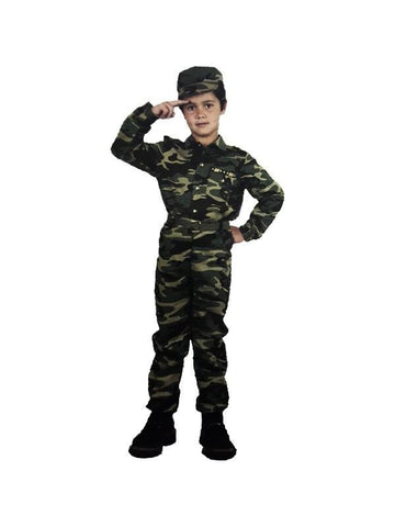 Child GI Fatigue Costume