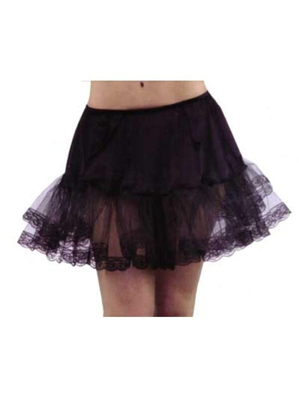 Adult Black Petticoat-COSTUMEISH