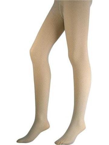 Light Blue Lycra Fishnet Pantyhose-COSTUMEISH