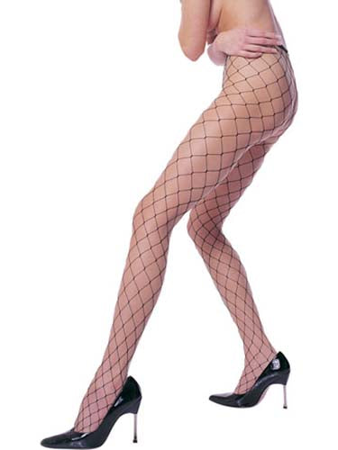 Black Fence Net Pantyhose-COSTUMEISH