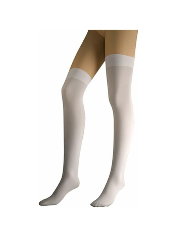 Adult White Thigh High Stockings-COSTUMEISH
