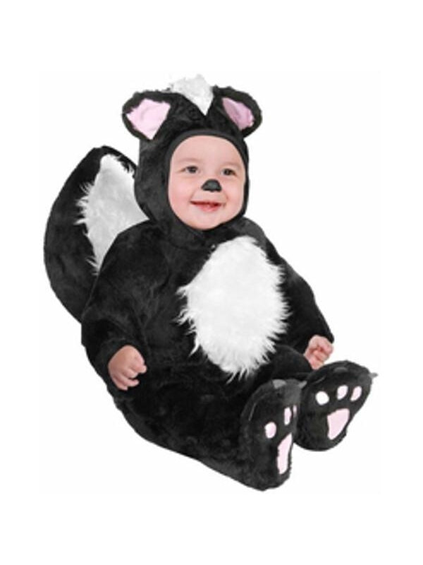 Baby Black Skunk Costume-COSTUMEISH