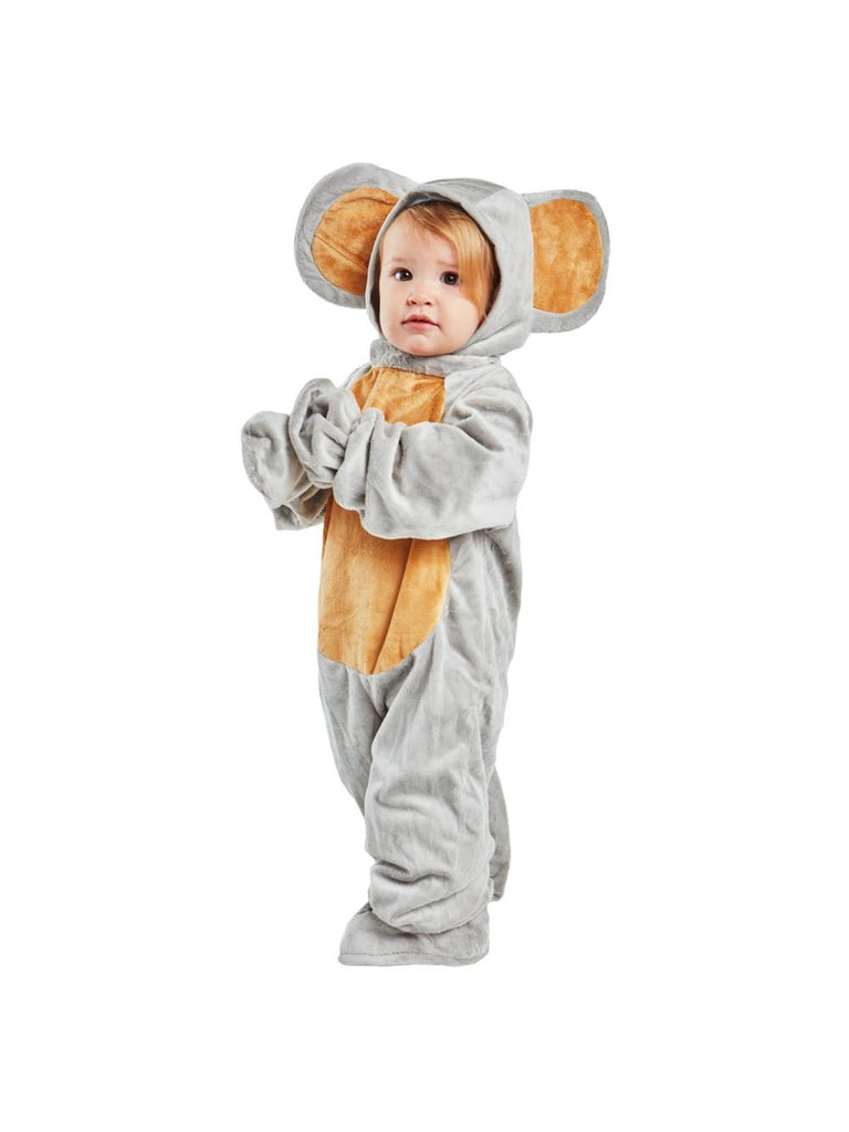 Toddler Grey Mouse Costume-COSTUMEISH