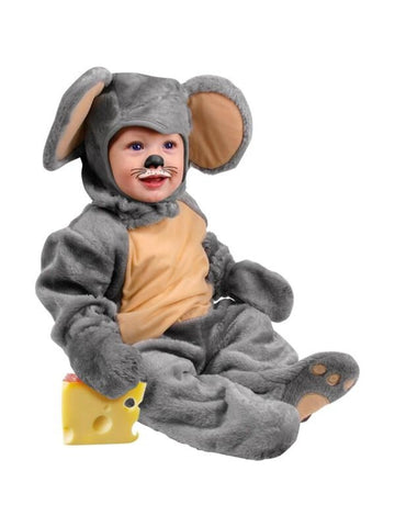 Infant Grey Mouse Costume-COSTUMEISH