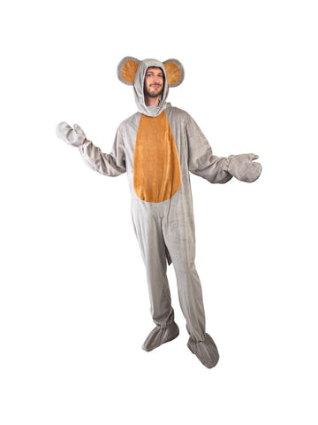 Adult Grey Mouse Costume-COSTUMEISH