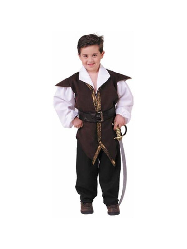 Childs Authentic Style Robin Hood Costume-COSTUMEISH