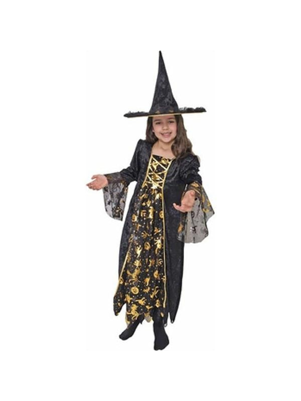 Childs Glamour Witch Costume-COSTUMEISH