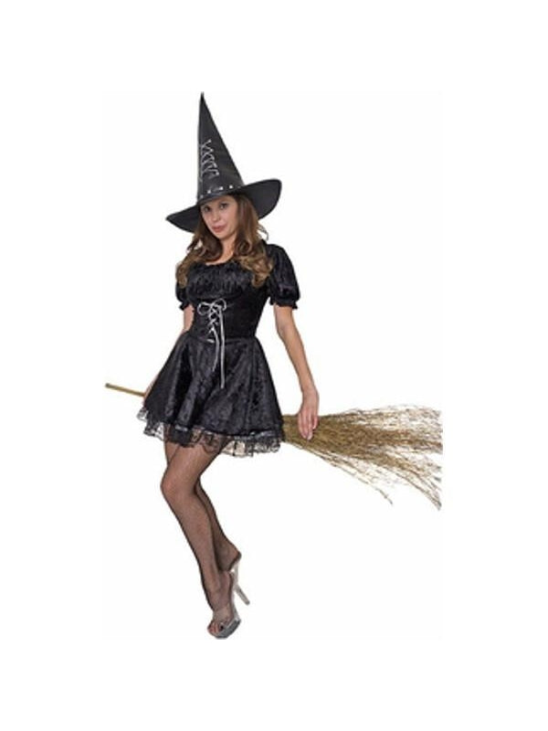 Adult Spell Witch Costume-COSTUMEISH