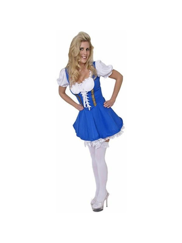 Adult Swiss Miss Costume-COSTUMEISH