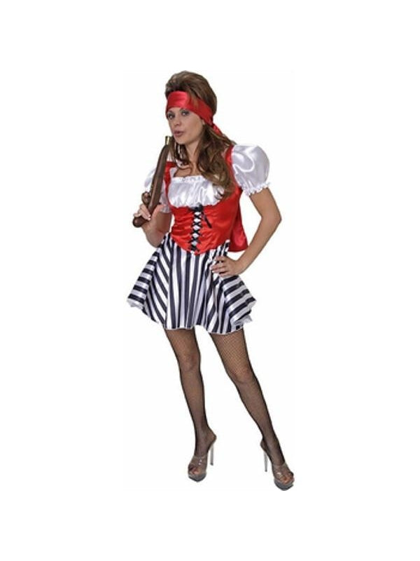 Adult Sexy Treasure Pirate Costume-COSTUMEISH