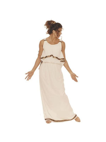 Adult Deluxe Plus Size Athena Costume-COSTUMEISH