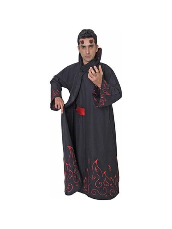 Adult Men's Flamed Devil Costume-COSTUMEISH