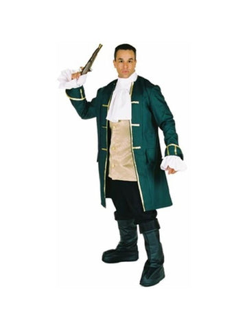 Adult Prestige Pirate Captain Costume