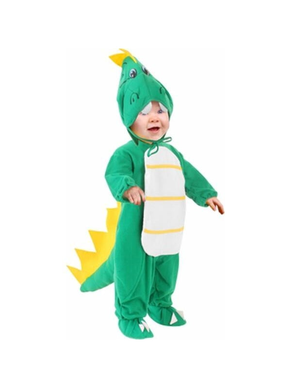 Toddler Green Dragon Costume-COSTUMEISH