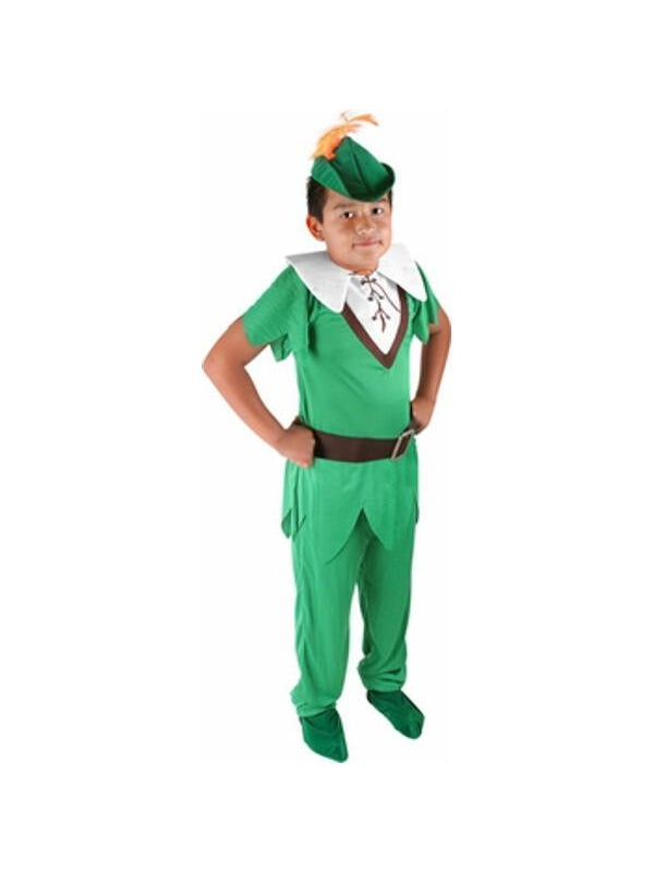 Childs Deluxe Peter Pan Costume-COSTUMEISH