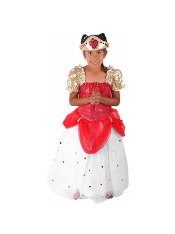Childs Queen of Hearts Costume-COSTUMEISH
