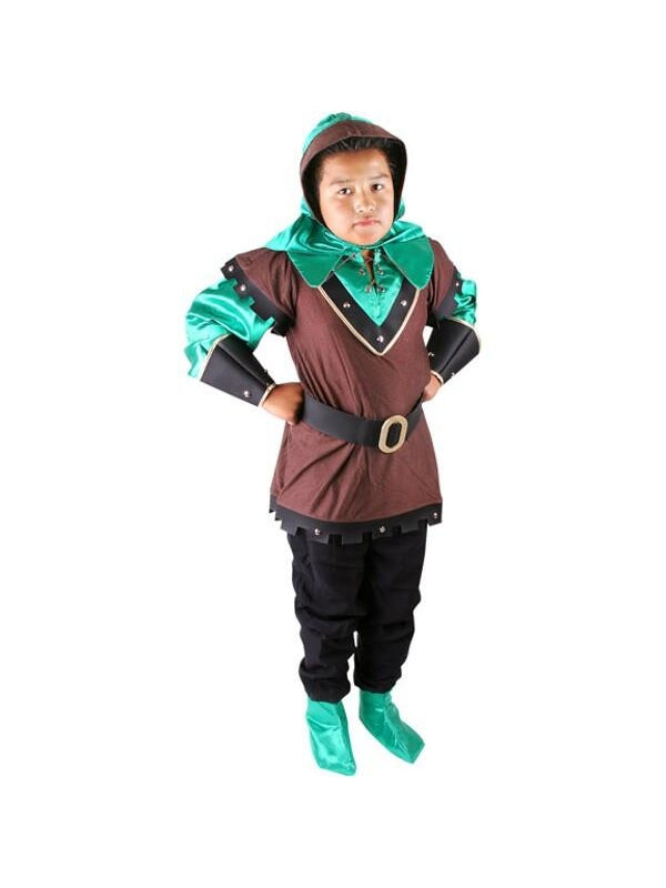 Child's Elite Robin Hood Costume-COSTUMEISH