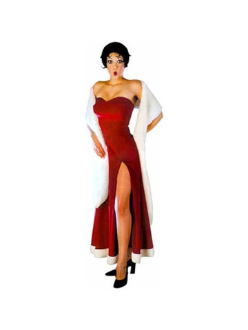 Adult Betty Boop Evening Gown Costume-COSTUMEISH