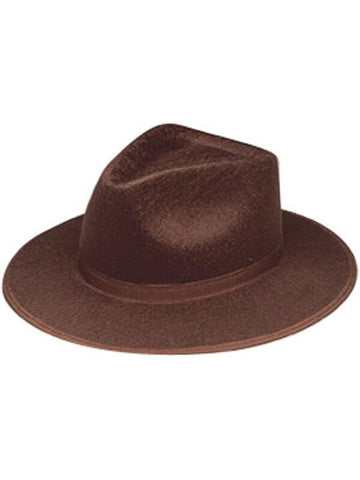 Brown Raider Hat-COSTUMEISH